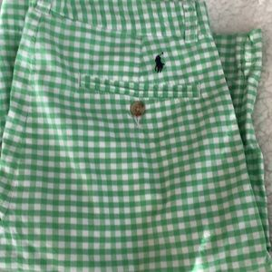 Polo Ralph Lauren Check Shorts - Like New - Sz 16